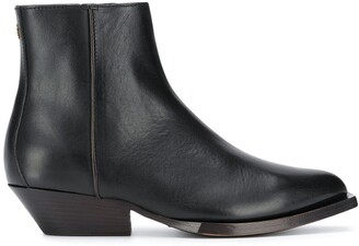 Jimmy Choo Pointed Side-Zip Boots