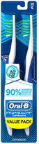 Oral-B CrossAction Regular Head Toothbrush Value Pack Soft