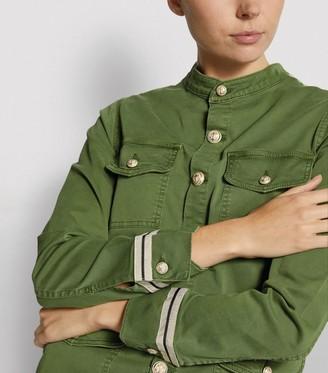 L'Agence Elaina Utility Tape Jacket