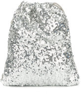 Simonetta sequinned backpack