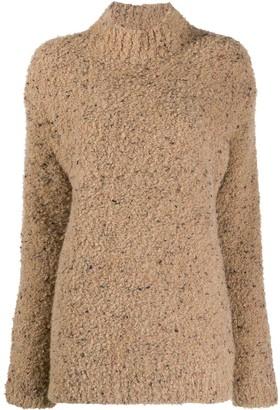 Ganni Turtleneck Knitted Jumper