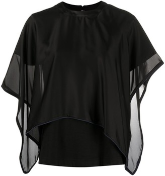 Sacai Short Sleeve Blouse