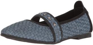 Bernie Mev. Women's Solo Pointed Toe Flat Light Jeans 38 EU/7.5 M US