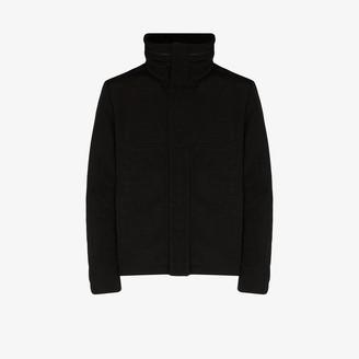 Yves Salomon High Neck Down Jacket