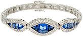 The Elizabeth Taylor Simulated Sapphire Tennis Bracelet