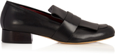 Ellery Dubois square-toe leather loafers