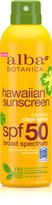 Alba Hawaiian Coconut Spray Sunscreen SPF 50