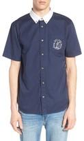 Vans Men's Sea Cruiser Contrast Collar Woven Shirt