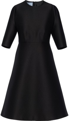 Prada Structured Flared Dress
