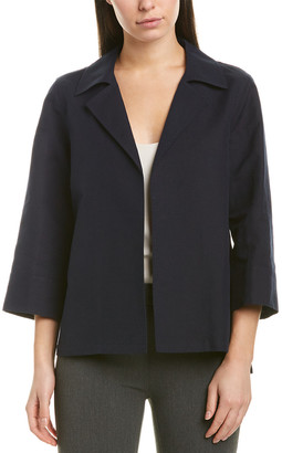 Lafayette 148 New York Tate Linen-Blend Jacket