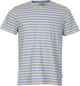 Oliver Spencer Conduit T Shirt - Sky Blue Stripe