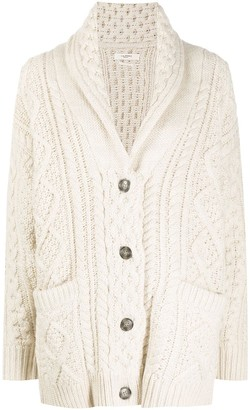 Etoile Isabel Marant Cable-Knit Long Cardigan