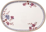 Villeroy & Boch Artesano Provencal Lavender Collection Porcelain Oval Fish Plate