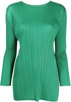 Pleats Please Issey Miyake pleated tunic style top