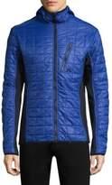 J. Lindeberg Atna Colorblock Quilted Jacket