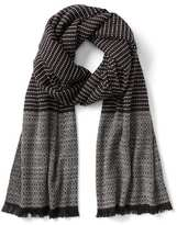 Gap Cozy textured fringe scarf