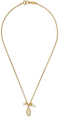 Isabel Marant Gold Hand Necklace