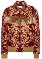 Saint Laurent Jacquard Velvet Jacket