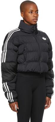 adidas Black Short Puffer Jacket