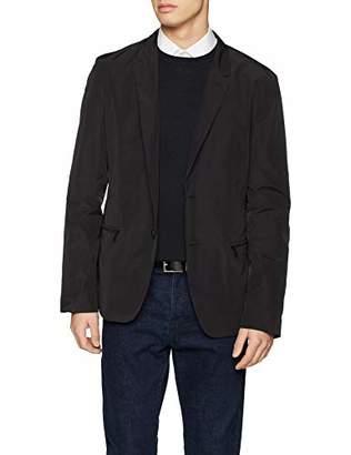 HUGO Men's Axelo1921 Jacket, Black 001, (Size: 48)