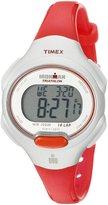 "Timex Women's T5K7419J ""Ironman Traditional"" Sport Watch with Orange Resin Strap"