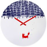 DENY Designs Robert Farkas Alone in the Forest Round Wall Clock