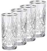 Bed Bath & Beyond Lorren Home Trends Reagan Highball Glasses (Set of 4)