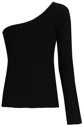 Simon Miller Devado One-Shoulder Knit Top