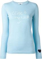 Bella Freud cashmere Close To My Heart jumper - women - Cashmere - S