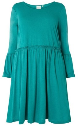 Dorothy Perkins Womens **Juna Rose Curve Teal Dress, Teal