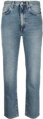Totême Twisted Seam straight leg jeans