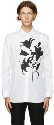 Alexander McQueen White Floral Shirt