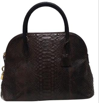 Reclaimed Vintage Brown Python Handbags