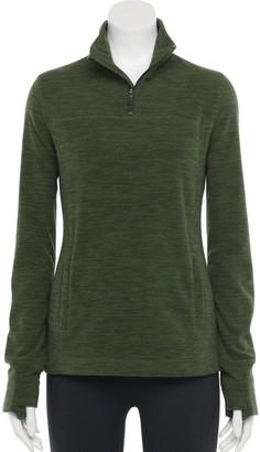 Tek Gear Women's Micro Fleece Quarter-Zip Pullover