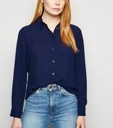 New Look Collared Long Sleeve Shirt