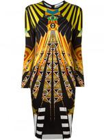 Givenchy Egyptian print dress