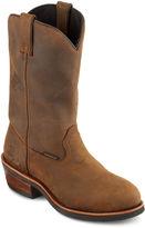 Dan Post Mens Waterproof Steel-Toe Cowboy Boots
