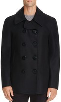 Gloverall Admiralty Wool Blend Peacoat