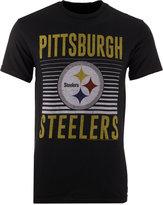 Junk Food Clothing Men's Pittsburgh Steelers Block Shutter T-Shirt