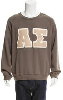 Acne Studios Greek Letterman Sweatshirt