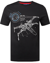 Star Wars X-wing T-shirt, Black
