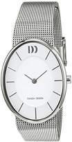 Danish Designs Danish Design Women's Quartz Watch with Black Dial Analogue Display Quartz Stainless Steel IV62 Q1168