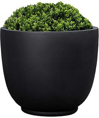 "Campania International Danilo Outdoor Planter - Black Onyx 22"""