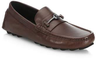 Coach Slip-On Leather Drivers