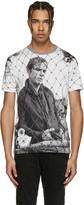 Dolce & Gabbana White Marlon Brando Fence T-Shirt