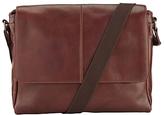 John Lewis Gladstone Messenger Bag, Brown