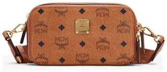 MCM Visetos Wash Bag