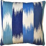 Kim Salmela Ikat 20x20 Outdoor Pillow, Gray