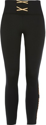 River Island Girls RI Active Black lace-up leggings