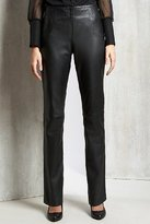 Limited Collection Skinny Leather Trousers